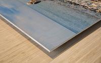 Llandundo beach Wood print