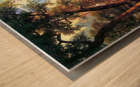 Yosemite Valley 2 by Bierstadt Wood print