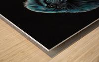 Curious Raven Wood print