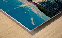 Moberly Lake Wood print