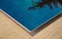 Coucher De Soleil Nord Wood print