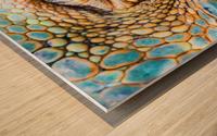 Eye of the dragon Wood print