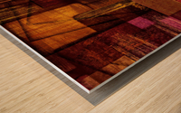 ABSTRACT-1512 Integration Wood print