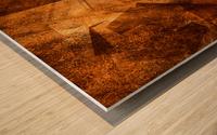 ABSTRACT-1008 Sociability Wood print