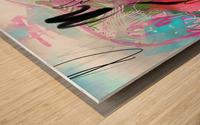 Summer Resort Abstract  Wood print