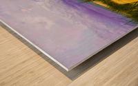 Dunes at Cape May Wood print