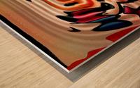 ABSTRACTO-2002 Drainage Wood print
