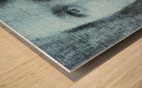 Un regard bleu - A Blue Gaze Wood print
