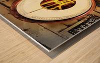 Weighing Scales Wood print