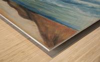 RA 002 - גל מתנפץ - crashing wave Wood print