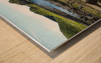 The Giants Causeway in Northern Ireland Wood print