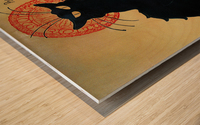 Theophile Steinlen - Tournee du Chat Noir Wood print
