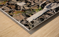 Sticks and Stones Wood print