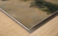 Monet study two Wood print