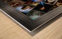 Xzendor7 Digital Classical Vintage Art Matrix Color Wood print