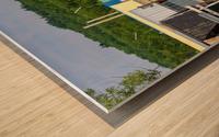 Hangars    bateaux - Boathouses Wood print