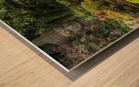 Divin Jardin d   eau   Divine Water Garden Impression sur bois