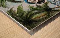 vacationparrot Impression sur bois