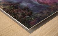 Landscape Mist Wood print
