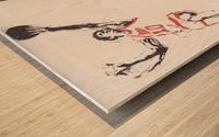 1976 Spirits of St. Louis Basketball Team Art Wood print