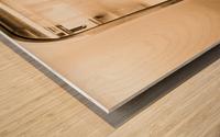 Urban Loneliness - Metro Wood print