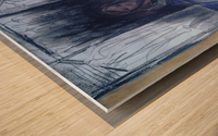 The Shame Closet Wood print