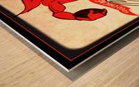 1956 Chicago Cardinals Viewfinder Slide Art Wood print