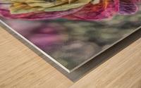 Beezy Blossom Wood print