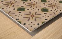 Greenflower Wood print