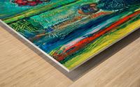 First Weeks Rent Wood print