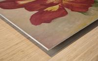 Canna Wood print