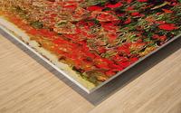 Hidden in the Poppy Fields Wood print