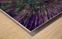 Eye of the Universe Wood print