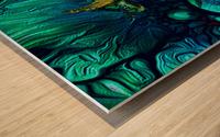 Turtles en Saison 8 Wood print