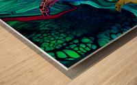 Turtles en Saison 5 Wood print
