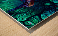 Turtles en Saison 6 Wood print