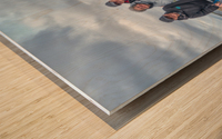 Les Warrecks Wood print