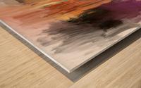 Sideboard Wood print