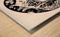 Symbiosis Wood print