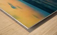 Manhattan Beach Beauty Wood print