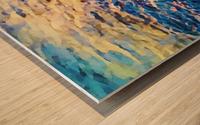 Manhattan Beach Water Wood print