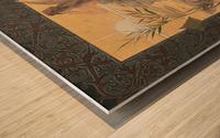 Alexandre-de-Riquer---Winged-nymph-at-sunrise Wood print