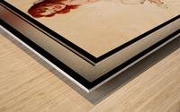 Bedside Manner by Gil Elvgren Vintage Illustrations Xzendor7 Old Masters Reproductions Wood print