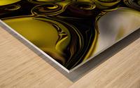 Architectonic Morphism Wood print