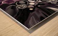 Silmulacrum vs Dimensionality Wood print