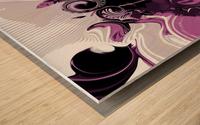 Vision of Emotional Information Wood print