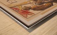 Vintage---Tank-Warfare Wood print