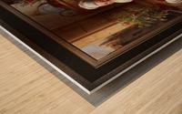 The Lace Maker by Josephus Laurentius Dyckmans Classical Fine Art Xzendor7 Old Masters Reproductions Wood print