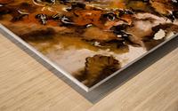 Autumnal Cut Wood print