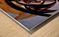 The Architectonic Autobiography Wood print